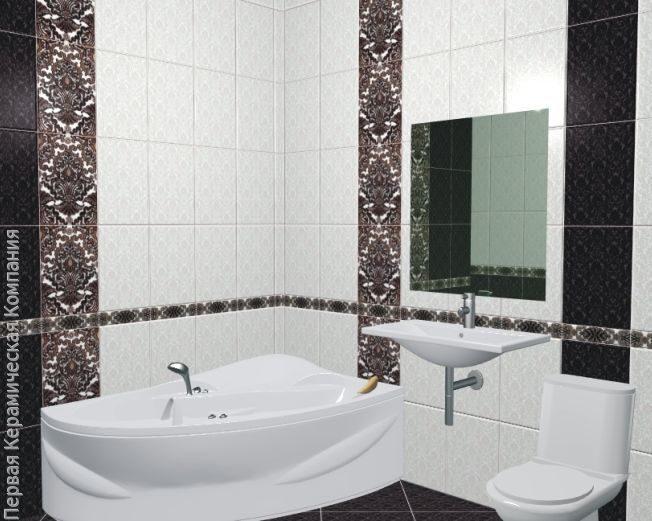 Плитка керамин дизайн ванной